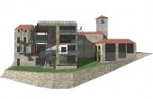 CRL009, Casa-torre nel centro storico di un borgo della Langa